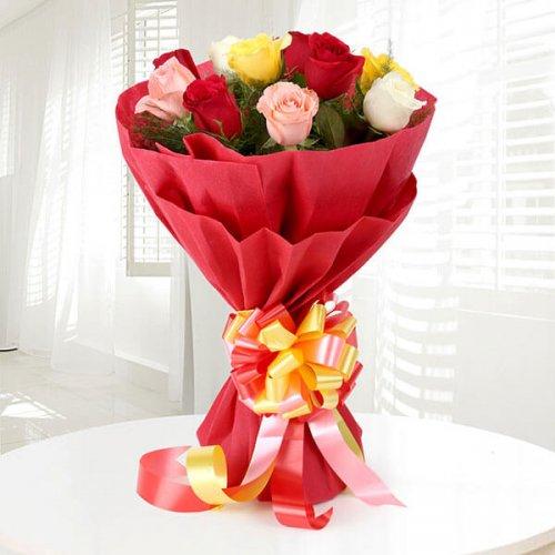 12 Sundry Mix Roses