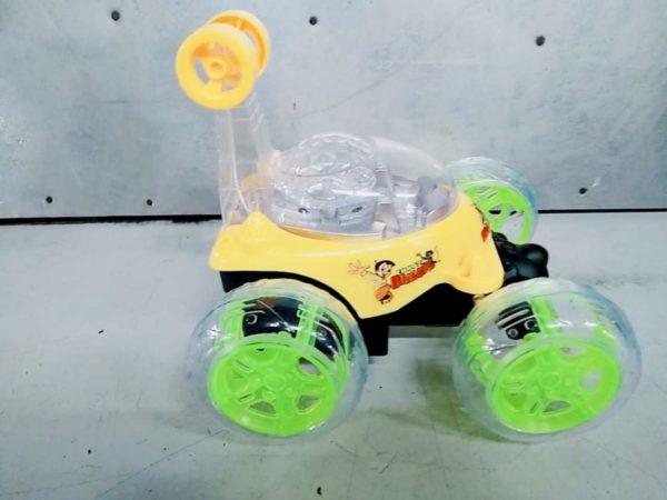chhota bheem rechargeable remote control stunt car1