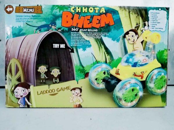chhota bheem rechargeable remote control stunt car4
