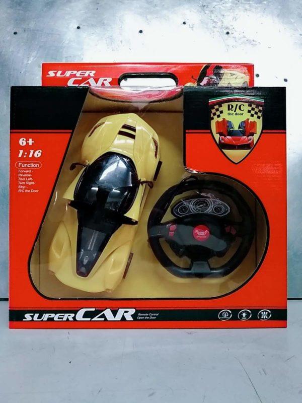 remote control open door super car