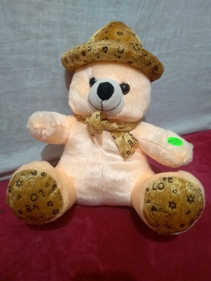 creamy-musical-teddy-bear-with-cap