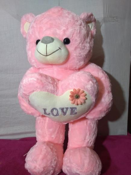 pink-standing-teddy-bear